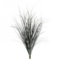 "18"" Blue Herb Faux Grass Bush"