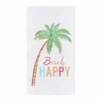"18"" x 27"" Beach Happy Flour Sack Kitchen Towel"