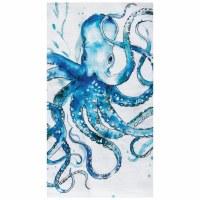 "18"" x 27"" Octopus Flour Sack Kitchen Towel"