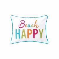 "12"" x 16"" Beach Happy Pillow"