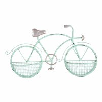 "29"" Aqua Bike 2 Baskets Wall Plaque"