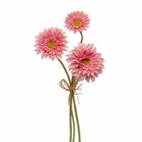 "13"" Bundle of 3 Pink Daisies"