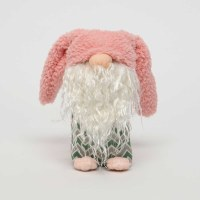 "6"" Pink Floppy Ear Easter Gnome"