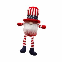 "11"" Uncle Sam Gnome Sitting"