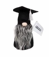 "7"" Graduation Gnome With Gray Beard"