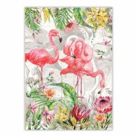 "20"" x 28"" Flamingo Kitchen Towel"