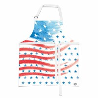 "31"" x 27"" Red White and Blue Apron"