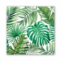 "6.5"" Square Palm Breeze Lunch Napkin"