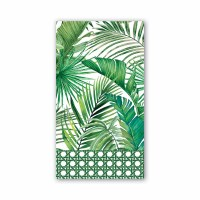 "4"" x 8"" Palm Breeze Guest Towel"
