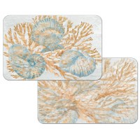 """11"""" x 17"""" Shimmer Shells Reversible Placemat"""