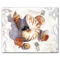"12"" x 15"" Sun Shells Cutting Board"