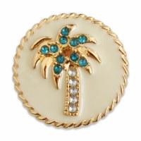 Set of 2 Lindsay Phillips Crest Palm Snap