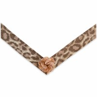 Large Lindsay Phillips Melody Rose Leopard Print Strap