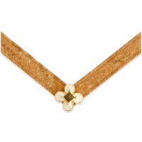 Medium Lindsay Phillips Ella Cork With White Flower Strap