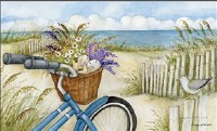 "18"" x 30"" Beach Bike Doormat"