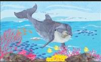 """18"""" x 30"""" Dolphin Doormat"""