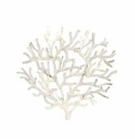 White Coral Capiz Plaque
