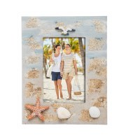 "4"" x 6"" Sand With Shells Picture Frame"