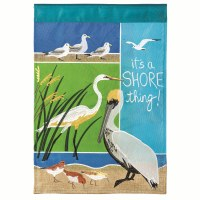 "18"" x 13"" Mini Shore Thing Garden Flag"