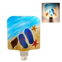 "5"" Flip Flops On Beach Night Light"