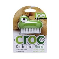 "2"" Joie Crocodile Scrub Brush"