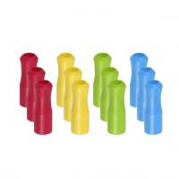 """Joie Bag of 12 1"""" Silicone Straw Tips"""