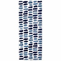 1.9' x 4.6' Medium Blues Rug
