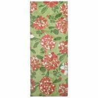 1.9' x 4.6' Floral Rug