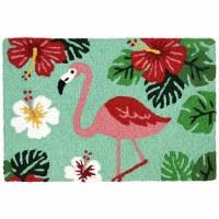 """20"""" x 30"""" Flamingo & Hibiscus Rug"""
