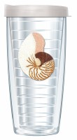 16 Oz Nautilus Tall Tumbler With Clear Lid
