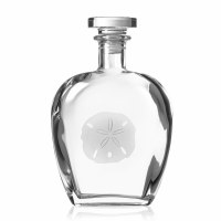 23 Oz Sand Dollar Etched Decanter