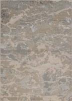 3.3' x 4.11' Sand and Gray Asbury Luna Rug