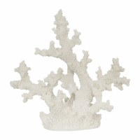 "10"" White Faux Branch Coral"