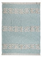"50"" x 60"" Sky Blue Throw"