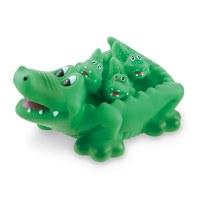 Set of 4 Gator Bath Toys