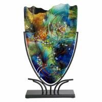 "19"" Under Sea Glass Vase"