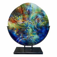 "16"" Under Sea Glass Vase"