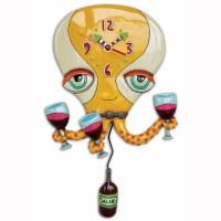 "15"" Happy Hour Octopus Wall Clock"