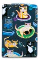 "4"" Crazy Cats Design Compact Mirror"