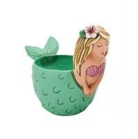 "6"" Mermaid Planter"