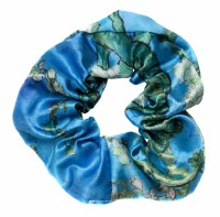 Van Gogh Almond Blossom Scrunchie