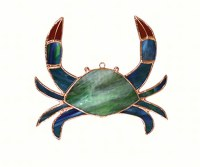 "6"" Crab Glass Sun Catcher"