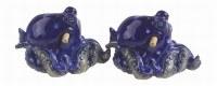 """2.5"""" Blue Octopus Salt and Pepper Shaker"""
