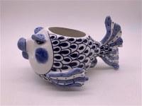 """9"""" Fish Ceramic Pot"""