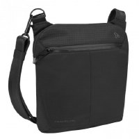 "10"" x 11"" Black Anti-Theft Active Small Cross Body Bag"
