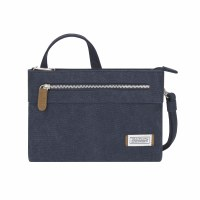 "10"" x 7"" Indigo Anti-Theft Heritage Small Crossbody Bag"