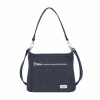 "11"" x 9"" Indigo Anti-Theft Heritage Hobo Bag"
