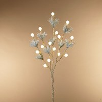 """30"""" LED Pine Branch With Lights"""