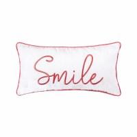 """12"""" x 24"""" Smile Pillow"""