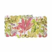 """51"""" Moana Floral Quilted Runner"""